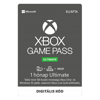 3 hónap Xbox Game Pass Ultimate